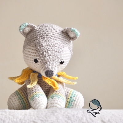 Amigurumipatterns Net Creations Raiko The Raiju From Unicorns Dragons And More Fantasy Amigurumi 2 A raijū is the embodiment of lightning into an animal form. amigurumipatterns net