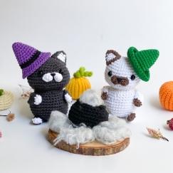 Khally and Kit the Halloween Kitten