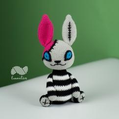 Halloween Creepy Rabbit
